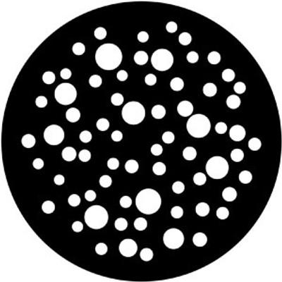 Bubbles Medium - Rosco Gobo #79653