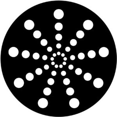 Radial Circles - Rosco Gobo #79702