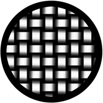 Woven Stainless - Rosco Glass Gobo #81139
