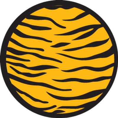 2 Color Tiger Print - Rosco Color Glass Gobo #84433