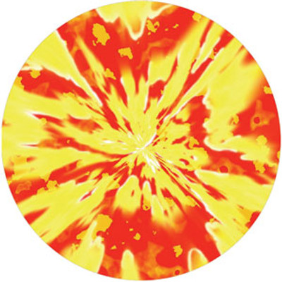Inferno Abyss - Rosco Color Glass Gobo #86630