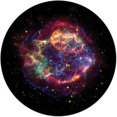 Chromatic Nebula - Rosco Color Glass Gobo #86669