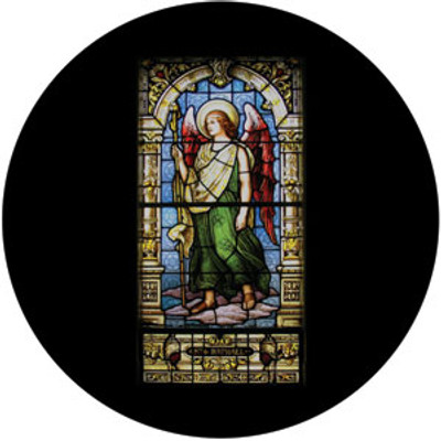 Raphael Stained Glass - Rosco Color Glass Gobo #86677
