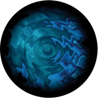 Aquatic Swirls - Rosco Color Glass Gobo #86736