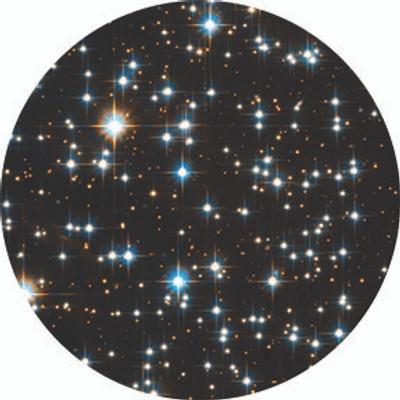 Stars Final Frontier - Rosco Color Glass Gobo #86754