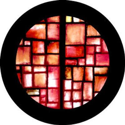 Red Square - Rosco Color Glass Gobo #86765