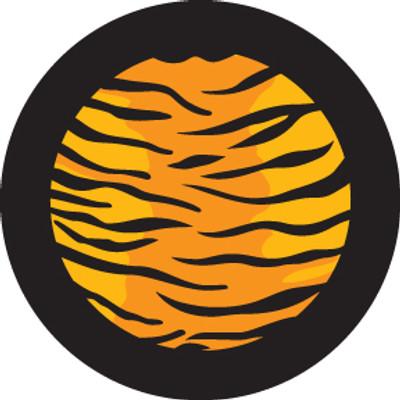 Multi Color Tiger Print - Rosco Color Glass Gobo #86766
