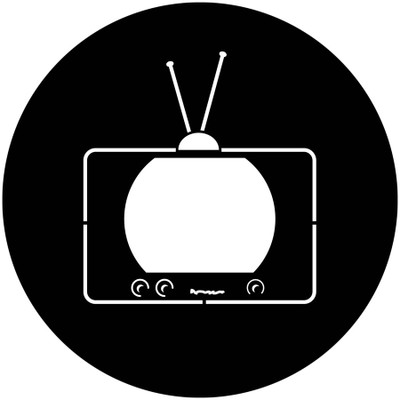 50's TV - Apollo Gobo #2524