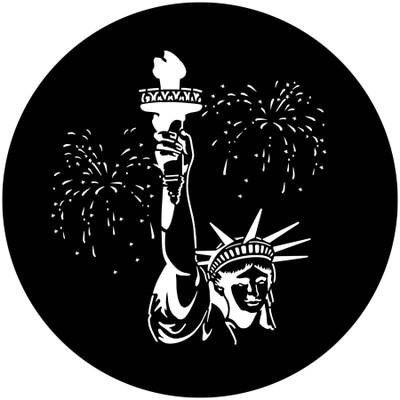 July 4th Statue of Liberty - Apollo Gobo #3004