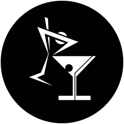 Cartoon Martini Glasses - Goodwin Lighting