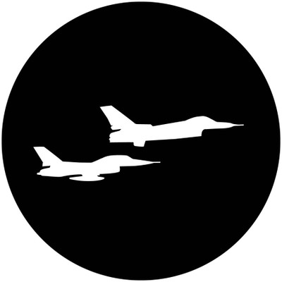 Aircraft Fighter Jets - Apollo Gobo #3402
