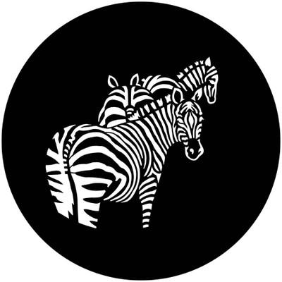 Africa Zebras - Apollo Gobo #4116