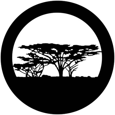 Africa Trees - Apollo Gobo #4117