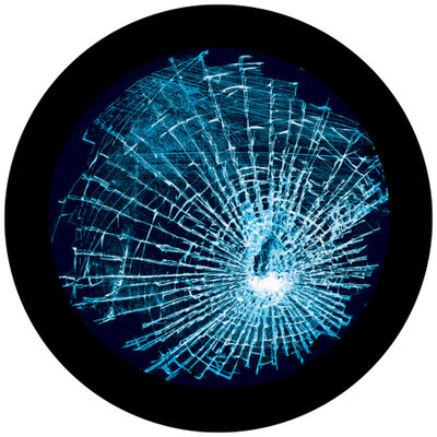Damaged Glass - Apollo Glass Gobo #C2-0116