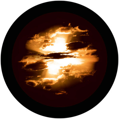 Amber Clouds - Apollo Glass Gobo #C2-0163
