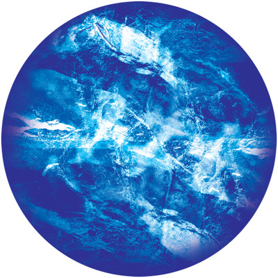 Capped Waters - Apollo Glass Gobo #C2-1146