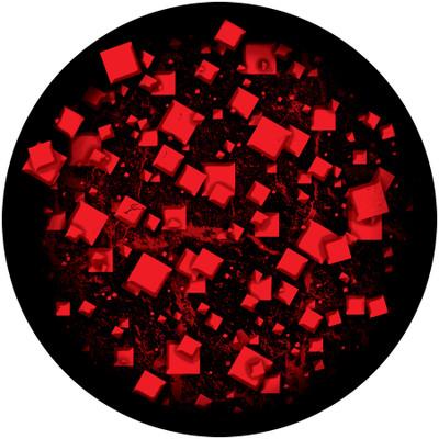 Angry Checkerboard - Apollo Glass Gobo #C2-1157