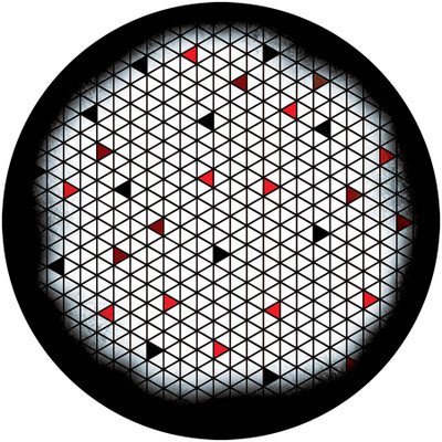 Backsplash - Apollo Glass Gobo #C2-1159