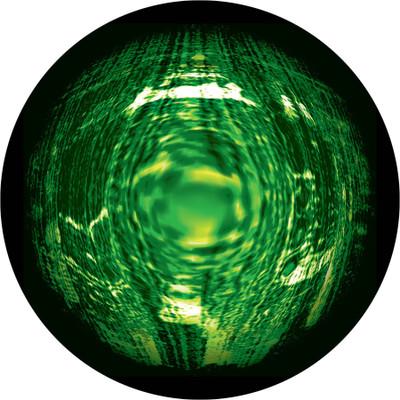 Expanding Waves - Apollo Glass Gobo #C3-0091