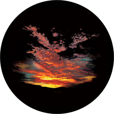 After The Storm - Apollo Glass Gobo #CS-0042
