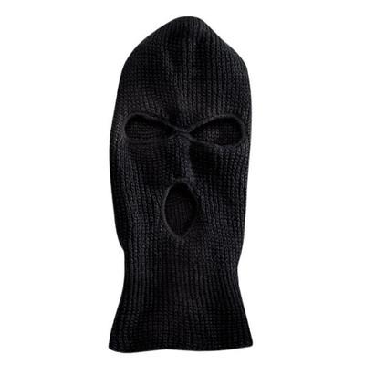 Full Face Ski Mask - Black