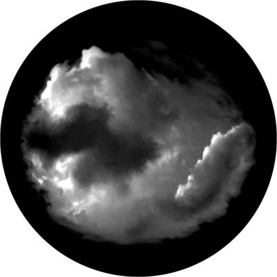 Cloud 3 - Apollo Glass Gobo #SR-0035