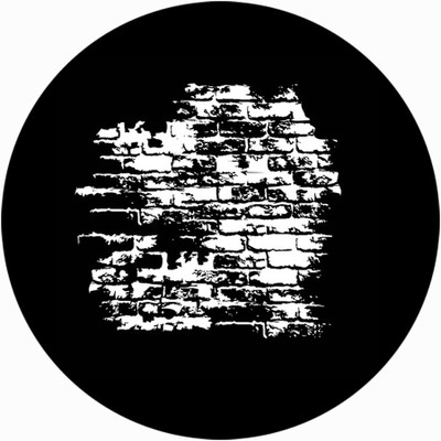 Worn Bricks - Apollo Glass Gobo #SR-0245