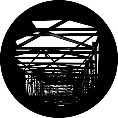 Abstract Scaffolding - Apollo Glass Gobo #SR-1112