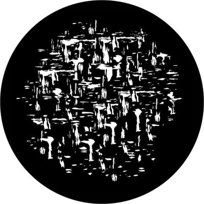 Erosion - Apollo Glass Gobo #SR-1204