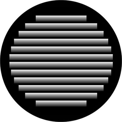 Shadow Lines - Apollo Glass Gobo #SR-2113