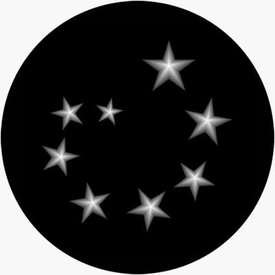Admiral Stars - Apollo Glass Gobo #SR-2128