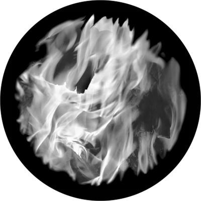 Fire Upclose - Apollo Glass Gobo #SR-2146