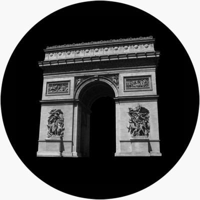 Arc De Triomphe - Apollo Glass Gobo #SR-2152