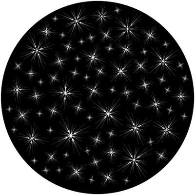 Glimmering Stars - Apollo Glass Gobo #SR-6048