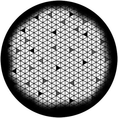 Triangle Break - Apollo Glass Gobo #SR-6128
