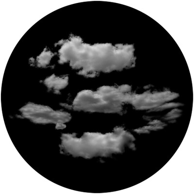 Typical Clouds - Apollo Glass Gobo #SR-6129