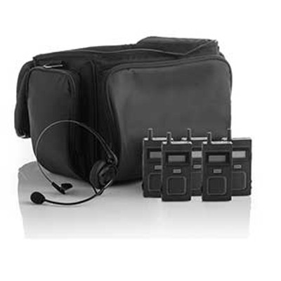 Fluent Stagecomm 5 User Wireless System With Headsets