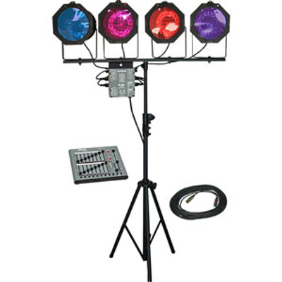 Lightronics Portable Lighting System with 8/16 Channels