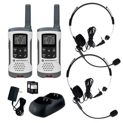 Motorola Radio Pair with 2 Headsets