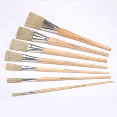 Natural Scenic Lining (Fitch) Brushes - 7 Piece Set