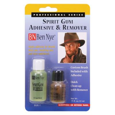 Ben Nye Spirit Gum & Remover set
