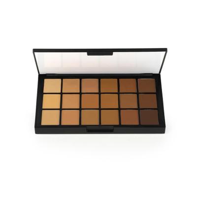 Ben Nye Matte HD Foundation - Olive Brown Palette