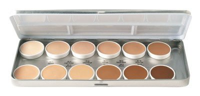 Ben Nye Matte HD Foundation Palette - 12 Classic Shades