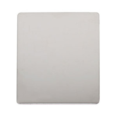 """Ben Nye Stainless Steel Large Mixing Palette 6"""" x 9"""""""