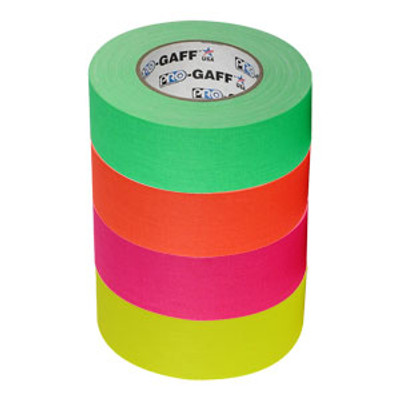 "Gaffer Tape 2"" Fluorescent Colors"