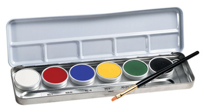 Ben Nye Primary Creme Face Painting Palette