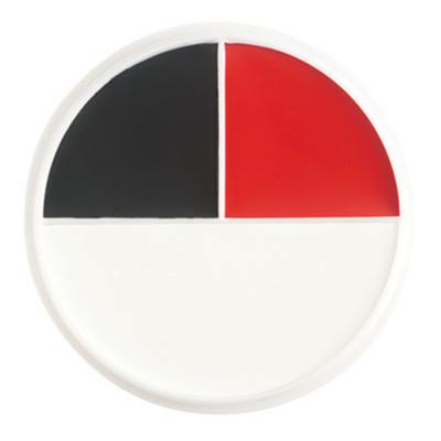 Ben Nye Red Black & White Wheel