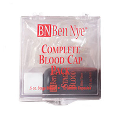 Ben Nye Blood Capsules, Complete Pack