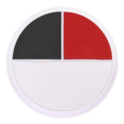 Ben Nye Character Wheels - Red/White/Black