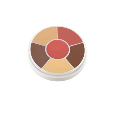 Ben Nye Creme Contour & Blush Wheel - Olive